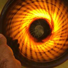 Beautiful nautilus hand blown glass plate studio hand crafted unique decor art