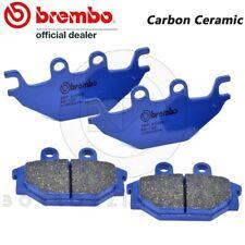 4 PASTIGLIE FRENO ANTERIORI BREMBO BLU 07GR5209 CARBON HERCULES ATV 280 2012