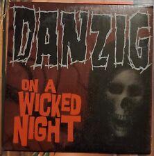 Danzig ON A WICKED NIGHT Promo CD No Scratches Evilive Radio & Album Version