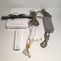 Nintendo Wii Console RVL-001 Game Cube Compatible TESTED