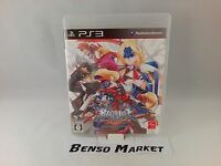 BLAZBLUE CONTINUUM SHIFT EXTEND SONY PS3 IMPORT NTSC JP JAP GIAPPONESE COMPLETO