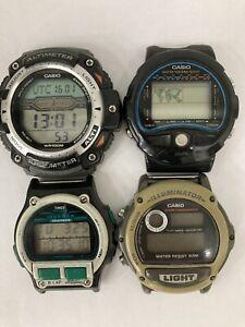 G SHOCK CASIO SGW 300 H , TS 100,W 89 H,TIMEX IRON MAN .