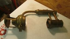 Antique Brass Railroad Wall Lamp Parts