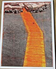 Christo & Jean-Claude  The Floating Piers Project Lake Iseo Italy 13x10 No 3