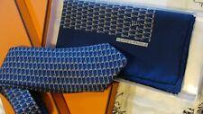 HERMES,JCB, Silk tie& Handkerchief ,V Rare,SPECIAL EDITION,Just Fabulous,