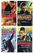 Mack Bolan #90 #121 #128 #149 Don Pendleton Lot of 4 Action Paperback Books