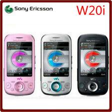 Sony Ericsson Zylo W20i - black silver (Unlocked) 3.2MP Camera 3G Cellular Phone