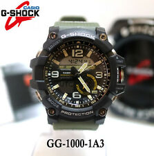 Casio G-Shock Mudmaster Analog Digital Twin Sensor Green GG-1000-1A3 Mens Watch