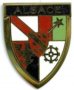 Badge auto car drago 1950s original Alsace France French