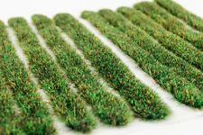 4mm Autumn Grass Strips x 10 by WWS - Model Railway Diorama Scenery & Terrain
