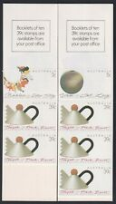 Australia Scott 1097a/b Mnh 1988 Contemporary Decorative Arts Stamp Booklets
