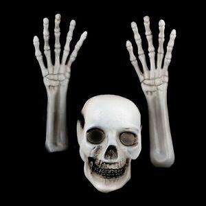 Spooky Luminous LED Halloween Skeleton Bones Ground Breaker Halloween Lights