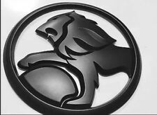 Lion Badge 130mm Matt Black Edition For Holden SS SSV SV6 VE VF