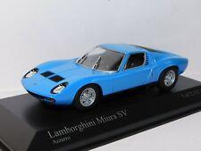 MINICHAMPS LAMBORGHINI MIURA SV 1971 BLUE 1/43