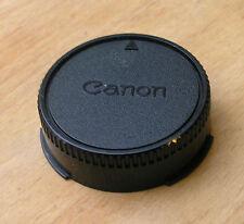 Genuino Canon FD FL de Montaje Tapa Trasera Usada