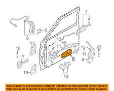 MITSUBISHI OEM 97-04 Montero Sport Front Door-Handle Cover Left MR763536