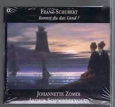SCHUBERT CD NEW KENNST DU DAS LAND JOHANNETTE ZOMER