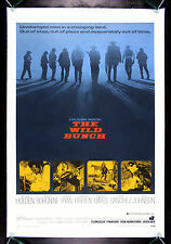 THE WILD BUNCH * CineMasterpieces WESTERN ORIGINAL MOVIE POSTER 1969