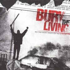 FREE US SHIP. on ANY 3+ CDs! NEW CD Bury the Living: All the News That's Fit to