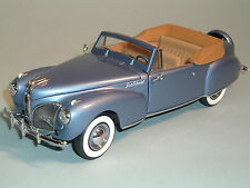 1941 LINCOLN CONTINENTAL BLUE MARK 1 LE 418/9900 FRANKLIN MINT 1:24 DIECAST & DY