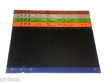 Microfich Catalogue de Pièces Détachées Khd / Deutz Tracteur D 4007 Stand