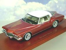Voiture Miniature BUICK RIVIERA 1971 En Rouge Métallisé TSM114332