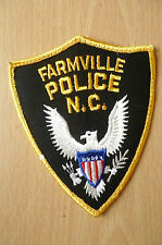 Patches: FARMVILLE NC POLICE PATCH(NEW,apx.4.10x4 inch)