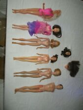 New ListingVintage Barbie & Friend lot As Is damaged for restoration or parts