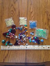 Lot Miscellaneous Beads Glass And Plastic Kitty Charm Assorted Size and Colors