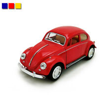 """1 Pc Classic Vw Beetle 1967 5"""" Alloy Diecast Model Cars Pull Back Function Toy"""