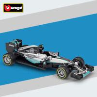 Bburago 2016 1:43 Mercedes F1 W07 Hybrid 6# Nico Rosberg Racing Diecast Models