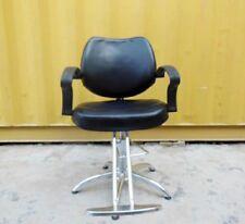 1X Black Adjustable Barber Cutting Chair Stool furn315