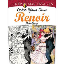 Dover Masterworks: Renoir Paintings - Adult Colouring Book - Dover