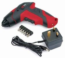 DRAPER REDLINE 3.6V ELECTRIC RECHARGEABLE BATTERY CORDLESS SCREWDRIVER DRILL