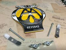 More details for classic aa car badge serial number 6e35943 in great condition as per photo
