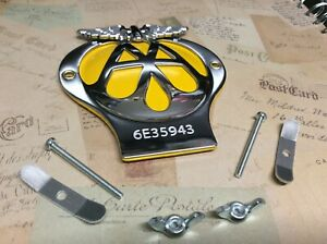 CLASSIC AA CAR BADGE SERIAL NUMBER 6E35943 IN GREAT CONDITION AS PER PHOTO
