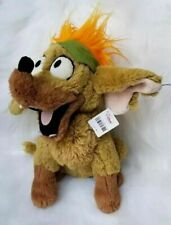 "DISNEY STORE EXCLUSIVE STAMPED TITO DOG PLUSH OLIVER COMPANY 13"" NEW TAGS RARE"