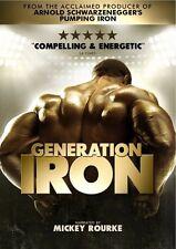 Generation Iron - Arnold Schwarzenegger - Brand new factory sealed.