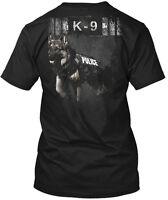 Police K-9 Unit Hanes Tagless Tee T-Shirt