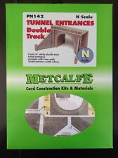 Metcalfe Kit PN142. Tunnel Entrances. Double Track.  N Scale.