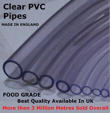 De 9 mm 1 Metro Transparente Pvc tubería flexible de Acuario Tubo Bombas Filtro Manguera De Agua