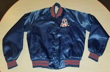 Vintage NFL Satin Bomber Jacket New England Patriots Size M Chalk Line