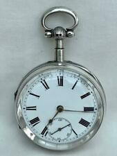 Good Silver Quarter Repeating English Pocket Watch By John Cording For Repair