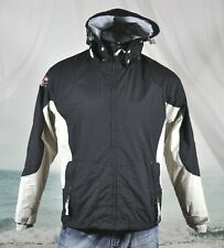 Ride Snowboards Youth Xl Ski Snow Jacket Fleece Lined Insulated Zip Hood Black