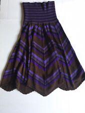 Dolce & Gabbana Knit Purple Skirt Or Dress