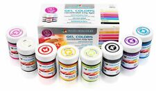 Set de gel colorante alimentario Multipack 8x35g colores concentrados