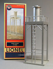 LIONEL FASTRACK SAND TOWER STRUCTURE o gauge train fast track silver 6-14255 NEW