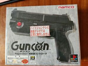 Namco Guncon for PlayStation, in mint condition, original packaging