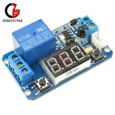 Infrared Remote Control 12v Timer Delay Relay Led Tube Display Module Arduino