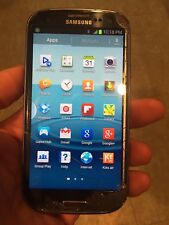 Samsung Galaxy S3 16 GB Sprint Blue - Bad ESN-Cracked Glass-Phone Fully Works
